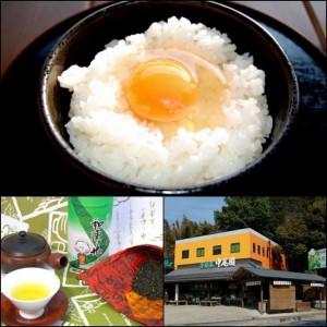 中尾園茶舗さんの、茶鶏の卵かけごはん