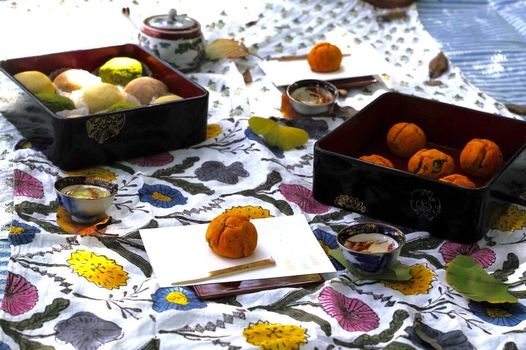 お茶の体験、茶鳥風(cha-trip)「すずめのお茶山ピクニック」。