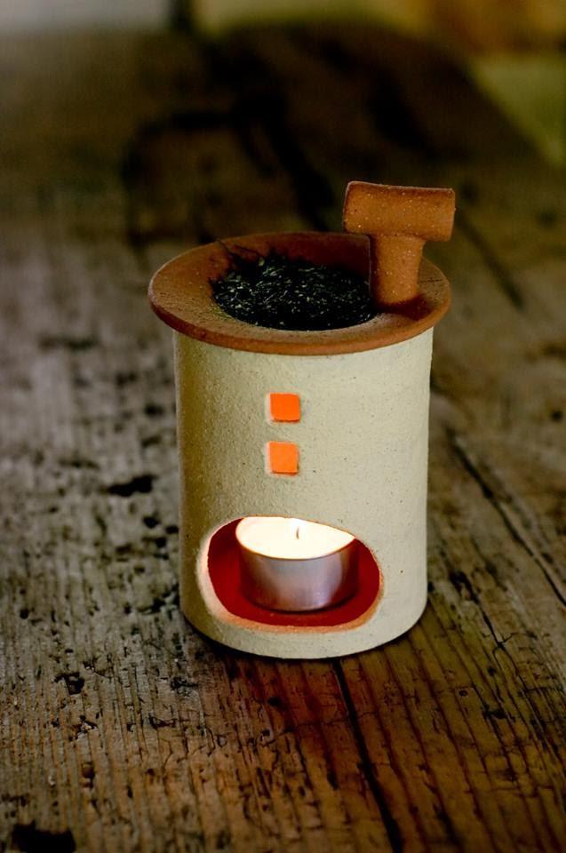 茶源郷まつり初の、陶芸体験! 『葉っぱ de 豆皿 づくり』