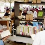 (日本語) お茶の図書室・本販売とビブリオバトル