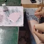 (日本語) 清水焼絵付け体験と陶器の販売