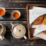 器の違いによるお茶の飲み比べと、茶器販売